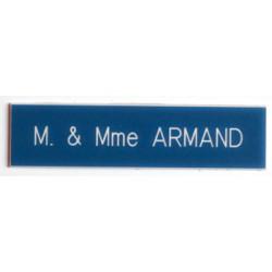 Plaque pour interphone et sonnette Bleue- Arial