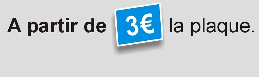 A partir de 3€