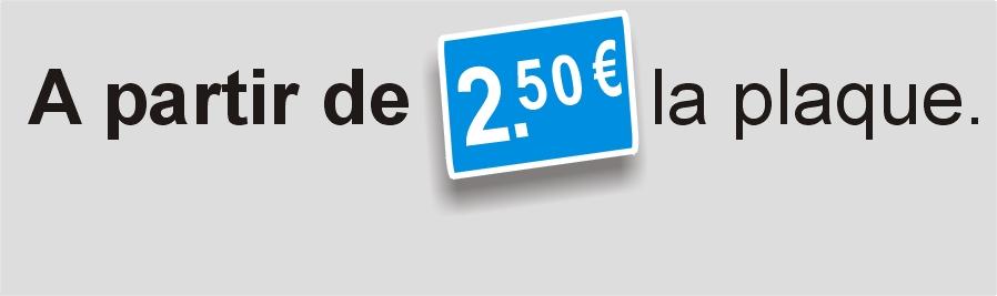 A partir de 2€50